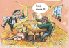 Cartoon: two more!!! (small) by ivo tagged wau