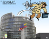 Cartoon: EU ACTA Ex (small) by RachelGold tagged eu,parliament,acta