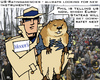 Cartoon: Groundhog Day (small) by RachelGold tagged groundhog,day,rating,agencies,europe,usa