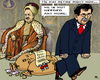 Cartoon: Retire of a Grand Vizier (small) by RachelGold tagged turkey,erdogan,davudoglu,sultan,grand,vizier,retire