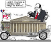 Cartoon: Political Mobility (small) by MarkusSzy tagged france,elections,hollande,national,assembly