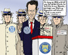 Cartoon: Rating Agents (small) by MarkusSzy tagged geithner,usa,europe,eu,rating,agency,agents,secretary,of,state