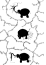 Cartoon: Circus II (small) by van der Tipa tagged elephant,arena