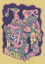 Cartoon: acid lunch (small) by elmoro tagged digital vector illustrator illustration acid