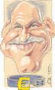 Cartoon: George Papandreou (small) by zed tagged george,papandreou,greece,politician,prime,minister,portrait,caricature