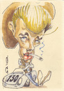 Cartoon: James Dean (small) by zed tagged james,dean,usa,actor,hollywood,movie,icon,film,portrait,caricature