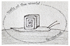 Cartoon: the cubist snail - no.7 (small) by schmidibus tagged schnecke welt kubismus kunst