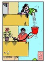 Cartoon: Save Water (small) by B V Panduranga Rao tagged save,water