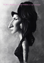 Cartoon: Amy Winehouse (small) by slwalkes tagged digital,singer,painting,walkes