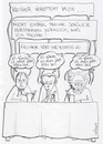 Cartoon: Der Philosophenstammtisch (small) by TRIPKE tagged hegel,kant,schopenhauer