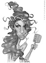 Cartoon: Amy Winehouse (small) by shar2001 tagged caricature,amy,winehouse
