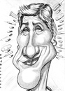 Cartoon: Edie Falco (small) by shar2001 tagged caricature,edie,falco,actress,usa