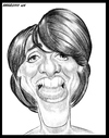 Cartoon: Florence Foresti (small) by shar2001 tagged caricature,florence,foresti