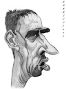 Cartoon: Franck Ribery (small) by shar2001 tagged caricature,franck,ribery