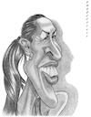 Cartoon: Jelena Jankovic (small) by shar2001 tagged caricature,jankovic,tennis,serbia