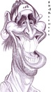Cartoon: Marcos Baghdatis (small) by shar2001 tagged caricature,marcos,baghdatis