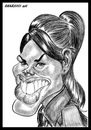 Cartoon: Missy Peregrym 2 (small) by shar2001 tagged caricature,missy,peregrym,andy,mc,nally