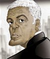 Cartoon: George Clooney (small) by Mattia Massolini tagged george clooney caricature