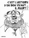 Cartoon: LA DERNIERE BLAGUE DE CARLOS ... (small) by CHRISTIAN tagged carlos
