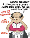 Cartoon: ministre chahute (small) by CHRISTIAN tagged frederic,mitterrand,ministre