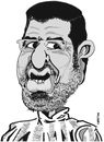 Cartoon: MOHAMED MORSI (small) by CHRISTIAN tagged egypte,elections,freres,musulmans