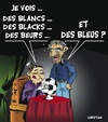 Cartoon: MONDIAL 2010 ... (small) by CHRISTIAN tagged mondial,fifa,afriquee,du,sud,bleus,france