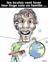 Cartoon: Nicolas HULOT candidat ... (small) by CHRISTIAN tagged presidentielles,ecologistes