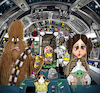 Cartoon: Star Wars fun (small) by tooned tagged star,wars
