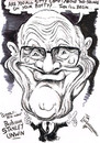 Cartoon: STANLEY UNWIN (small) by Tim Leatherbarrow tagged professor,stanley,unwin,unwinese,gibberish,humour