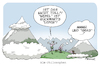 Cartoon: Alm-Philosophen (small) by FEICKE tagged wort,spiel,sprache,philosophie