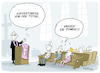 Cartoon: Auferstehung (small) by FEICKE tagged kirche,religion,ostern,zombie,kind,auferstehung,glauben,medien,serie