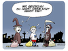 Cartoon: Gruselverkleidung (small) by FEICKE tagged bundesliga,hsv,hamburger,sportverein,niederlage,tabelle,abstiegskampf,halloween,helloween