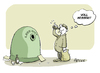 Cartoon: Leergut (small) by FEICKE tagged leer,voll,wortspiel,pfand,philosoph