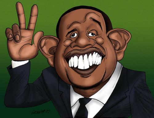 Cartoon: forrest whitaker (medium) by grant tagged forrest,whitaker,caricature