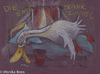 Cartoon: Drunken Duck (small) by monika boos tagged alcohol,hangover,the,day,after,duck,kater