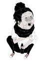 Cartoon: selfportrait (small) by jannis tagged selfportrait