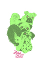 Cartoon: zombie dogs (small) by jannis tagged zombie,dog