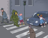 Cartoon: Street (small) by Elkin tagged street,boys,guys