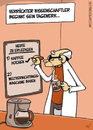 Cartoon: Arbeitsplan (small) by mil tagged arbeitsplan,to,do,liste,arbeitstag,kaffee,morgenkaffee,arbeitsbeginn,aufgaben,verrückter,wissenschaftler,professor,erfindung,weltvernichtung,kaffeemaschine