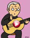 Cartoon: Play 2 (small) by Vhrsti tagged music,play,downloads,authorial,rights,law