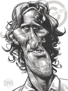Cartoon: Diego Forlan (small) by Russ Cook tagged diego,forlan,uruguay,football,world,cup,striker,soccer,caricature,drawing,digital,wacom,cintiq,photoshop,russ,cook,zeichnung,karikatur,karikaturen