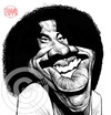 Cartoon: Lionel Richie (small) by Russ Cook tagged lionel,richie,singer,american,soul,pop,musician,russ,cook,caricature,cartoon,digital,pencil,photoshop,illustration,karikatur,karikaturen,zeichnung