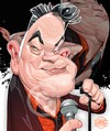 Cartoon: Stewart Lee (small) by Russ Cook tagged stewart,lee,caricature,russ,cook,richard,herring,standup,comic,comedy,jerry,springer,the,opera,comedian,writer,fist,of,fun,digital