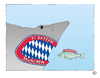 Cartoon: Hoenessodon bavariensis (small) by Erwin Pischel tagged jürgen,klopp,borussia,dortmund,bvb,bayern,münchen,fcb,munich,mir,mia,pep,guardiola,cl,champions,league,dfb,pokal,finale,pokalfinale,endspiel,fussball,fußball,soccer,football,schiri,cartoon,comic,zeichnung,karikatur,karrikatur,caricature,drawing