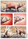 Cartoon: Verdaungsprobleme (small) by neophron tagged cartoon satire animals tiere