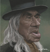 Cartoon: Chief Dan George (small) by Jeff Bailey tagged lone,wattie