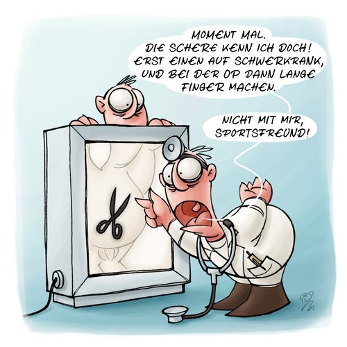 LACHHAFT Cartoon No. 134