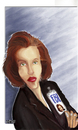 Cartoon: Gillian Anderson (small) by sziwery tagged gillian,anderson