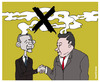 Cartoon: China and USA against the emissi (small) by martirena tagged china,usa,emissions