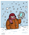 Cartoon: Cold wave (small) by martirena tagged cold,wave